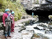 Caving in the Brecon Beacons National Park